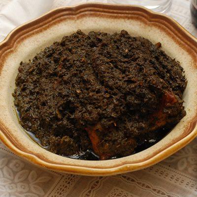 Fried Cassava Leaf