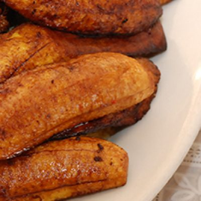 Fried Plantain & Chicken