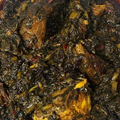 Cassava Leaf – Red Oil